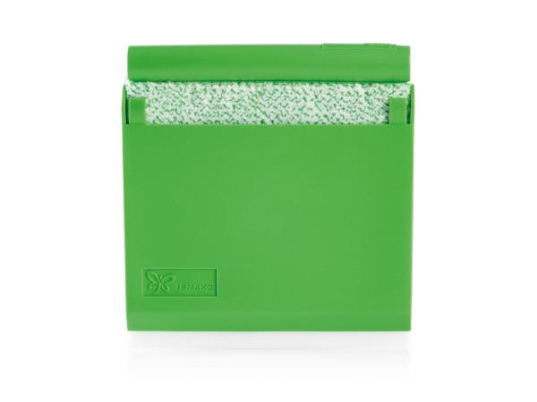 JEMAKO® Scraper mit Box u. Eiskratzerschiene, grüne Faser