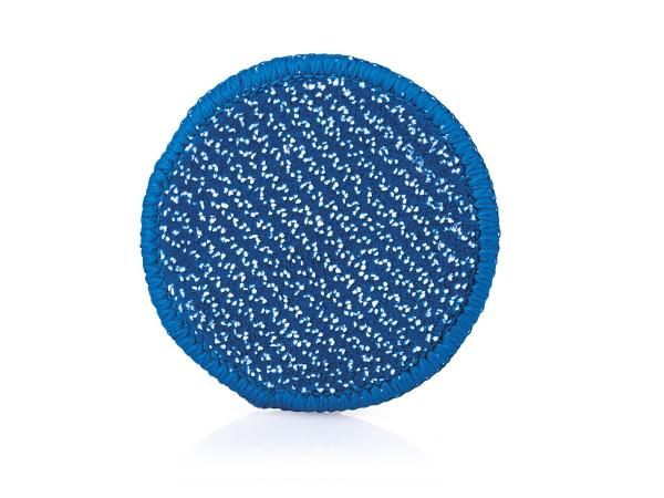 JEMAKO® DuoPad mini Ø 9,5 cm, blaue Faser, Set à 20 Stück