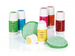 JEMAKO® RollOut® SixPack, 6 x 50 ml + 2 x DuoPad mini Ø 9,5 cm, grüne Faser online kaufen auf JEMAKO Shop - TopClean24.de
