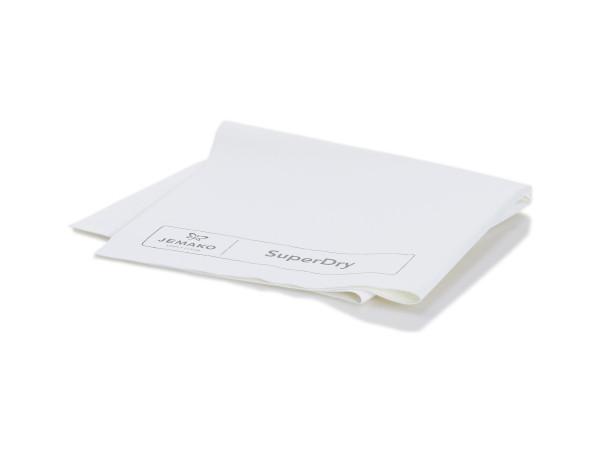 JEMAKO® Abledertuch SuperDry weiß/grau 45 x 60 cm