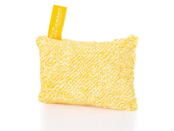 JEMAKO® Reinigungsschwamm Kurzflor 10 x 14 cm, gelbe Faser