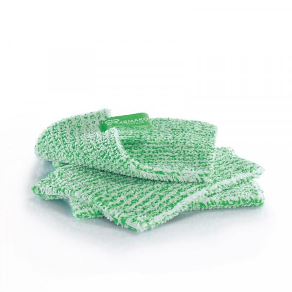 JEMAKO® DuoTuch klein 18 x 14 cm grüne Faser - 3er Pack