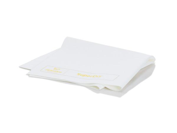 JEMAKO® Abledertuch SuperDry weiß/gelb 40 x 45 cm
