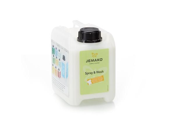 JEMAKO® Spray & Wash, 2 l-Kanister
