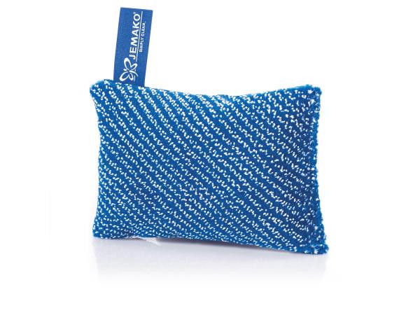 JEMAKO® Reinigungsschwamm Kurzflor 10 x 14 cm, blaue Faser